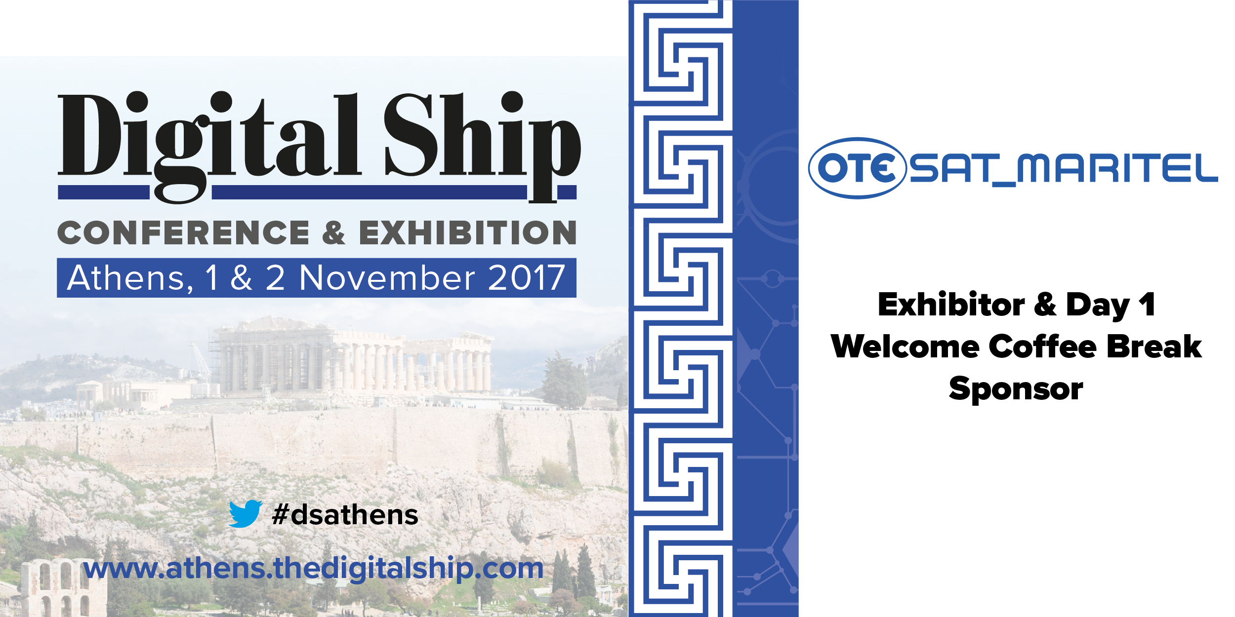 "OTESAT_MARITEL at Athens ""Digital Ship 2017"""
