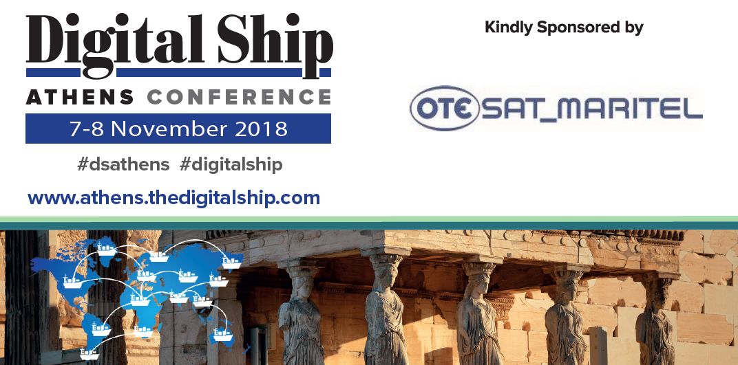 OTESAT_MARITEL at Digital Ship Athens 2018